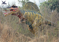 Decoraciones móviles del césped del dinosaurio de Game Center durables con la garantía 12 meses
