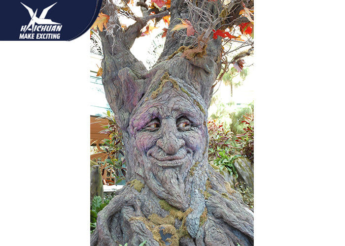Corrosion Resistance Cartoon Talking Tree High Simulation Garden Plant Statue