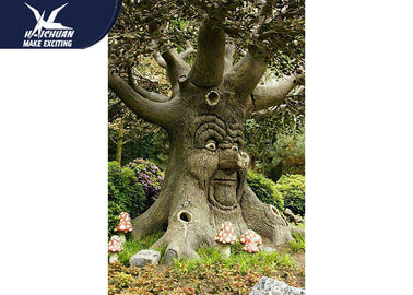 China Árbol que habla Animatronic divertido durable en tamaño modificado para requisitos particulares parques del parque zoológico fábrica